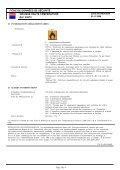 FICHE DE DONNÉES DE SÉCURITÉ GRAISSE HAUTE ... - Krafft - Page 4