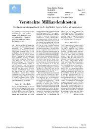 Auszüge aus der Berichterstattung - c-alm