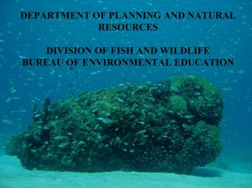 department of planning and natural resources division of fish