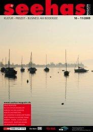 Oktober November 2009 - Seehas Magazin