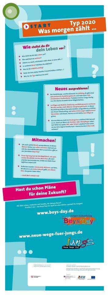 Banner Wanderausstellung.pdf - Neue Wege für Jungs