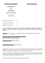 commune de canejan - Mairie de Cestas