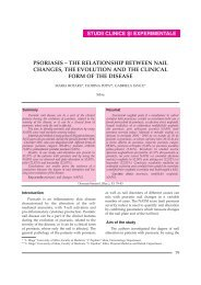 PSORIASIS – THE RELATIONSHIP BETWEEN NAIL CHANGES ...