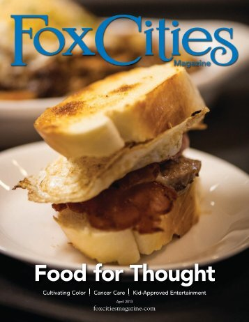 Food for Thought - Fox Cities Magazine