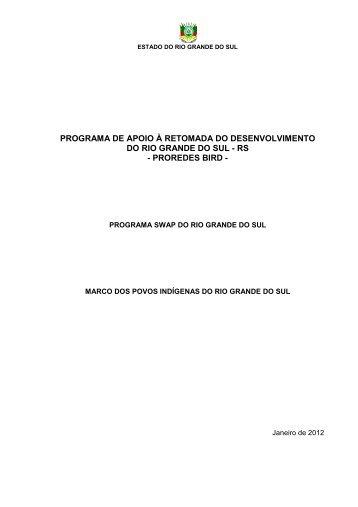 Marco Indígena - Secretaria de Educação do Estado do Rio Grande ...