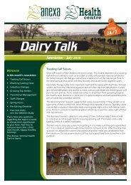 Dairy Talk July 2010.indd - Anexa Animal Health