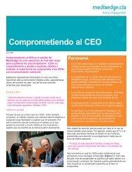 Comprometiendo al CEO 2 - MEC