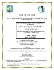 Print Affinity Travels Reservation Form