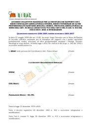 ACN 29-7-09 testo accorpato all'ACN del 23-3-05 - Ordine ...