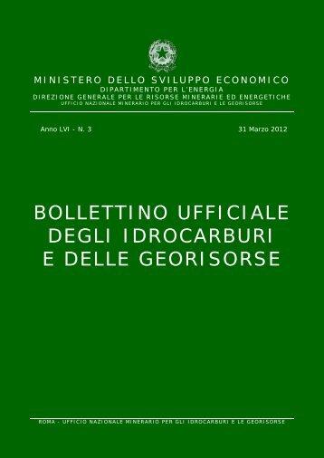 LVI-3 - Unmig - Ministero dello Sviluppo Economico