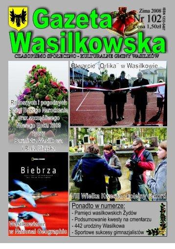 Numer 102 - Gazeta Wasilkowska - Wasilków