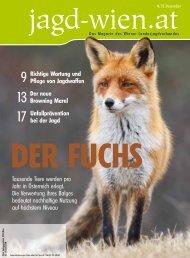 Ausgabe 4/2013 - bei Wiener Landesjagdverband