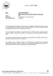 CDT-AC III-2012/10 Service Desk Assistant (Office Desktop Tools)