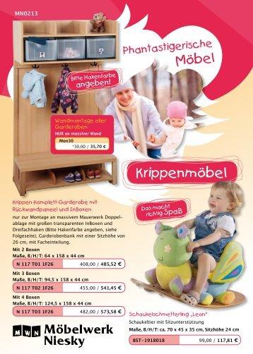 Krippenmöbel - Möbelwerk Niesky