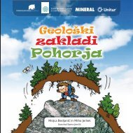 GeoloÃ…Â¡ki zakladi Pohorja - Zavod RS za varstvo narave