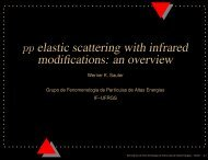 pp elastic scattering with infrared modifications: an overview