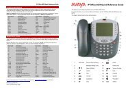 IP Office 4625 Quick Reference Guide - IP Office Info