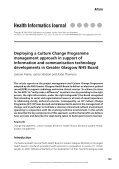 Deploying a Culture Change Programme Management Approach - Page 2