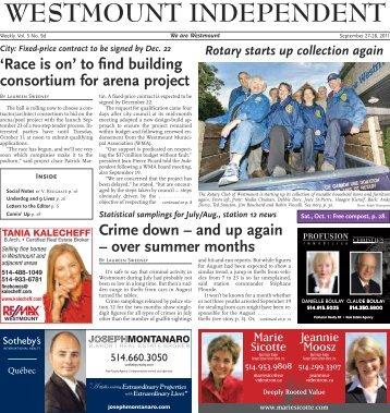 September 27 - Westmount Independent