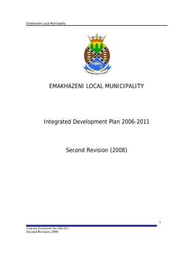 Emakhazeni Local Municipality 2008/09 - Co-operative Governance ...