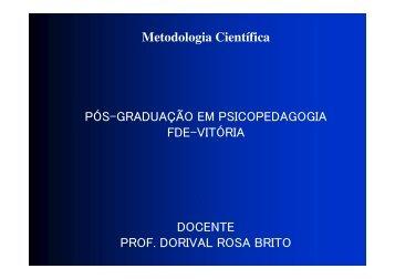 Metodologia Científica - Drb-assessoria.com.br