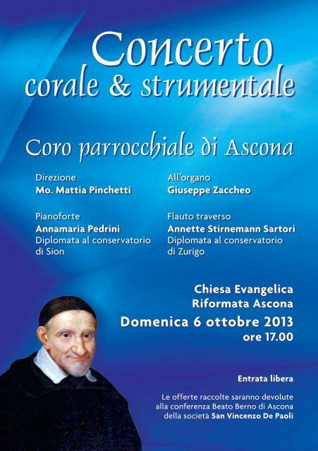 Scarica il programma - Parrocchia di Ascona