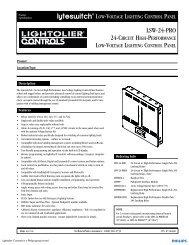 LSW-24-PRO - Philips Lighting Controls
