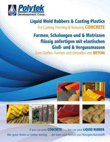 liquid rubber - Polytek Development Corp.