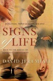 Signs of Life - Dr. David Jeremiah