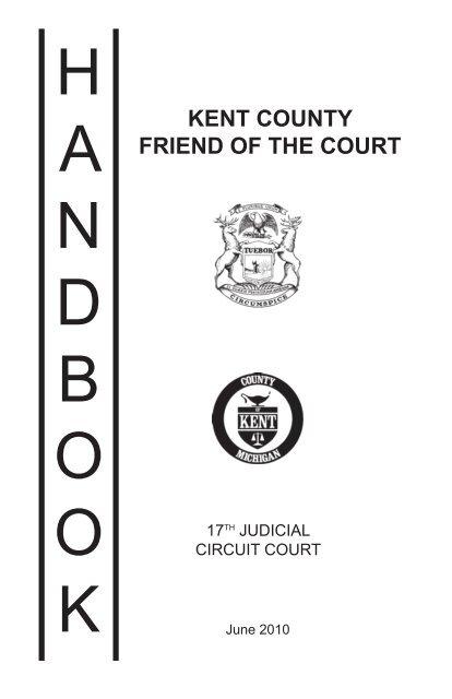 Friend of the Court Handbook - Kent County, Michigan