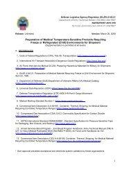 Preparation of Medical Temperature-Sensitive Products Requiring ...