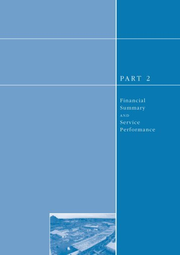 Part 2: Financial Summary and Service Performance (PDF 418KB)