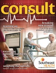 consult - SoutheastHEALTH