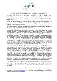 Informações Básicas - IAG - A Escola de Negócios da PUC-Rio