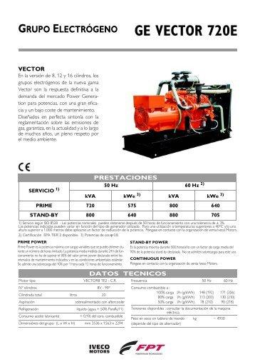GE VECTOR 720E - Doosan BobCat Chile