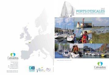 Ports d'escales 2012 - Conseil général du Calvados