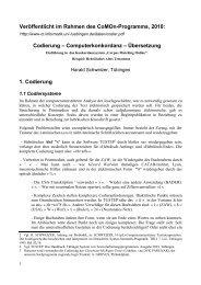 Codierung – Computerkonkordanz