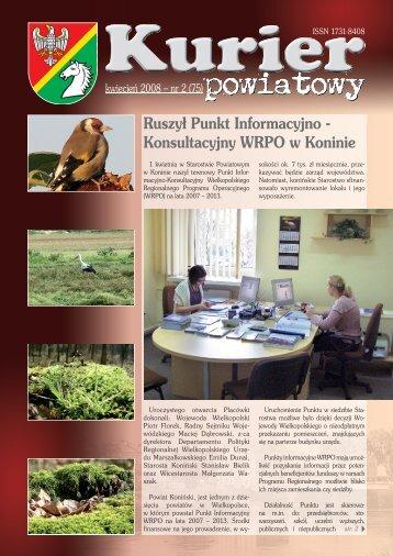 Kurier Powiatowy nr 2(75) - Powiat koniński