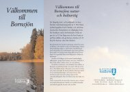Naturstig Bornsjön - Stockholm Vatten