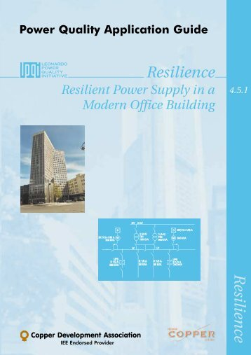 4.5.1 Resilient Power Supply in a Modern Office Building - Copper ...
