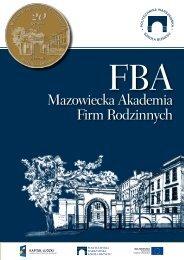 Mazowiecka Akademia Firm Rodzinnych - Inicjatywa Firm Rodzinnych