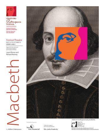 Macbeth Cover.indd - Stratford Festival