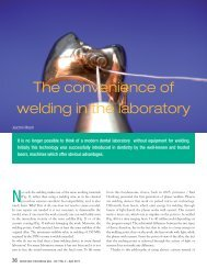 The convenience of welding in the laboratory - primotec
