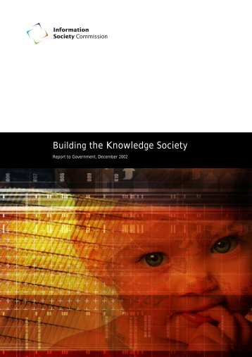 Building the Knowledge Society - Department of Communications ...