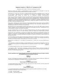 Despacho Conjunto n.º 300/97 de 7 de Agosto de 1997