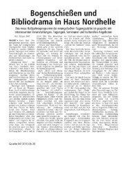 zum Artikel (PDF) - Haus Nordhelle