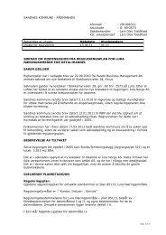 Søknad om dispensasjon fra reguleringsplan for Lura ...