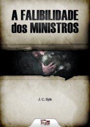 A FALIBILIDADE DOS MINISTROS - Livros evangélicos