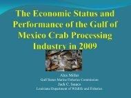 Processor Survey Crab Task Force 2013 - Louisiana Department of ...