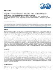 Integrated Characterization and Simulation of the ... - Sigmacubed.com